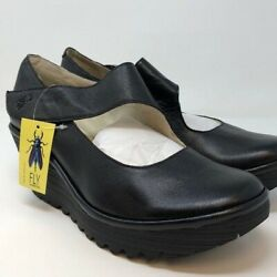 FLY London YASI682FLY Wedge Pump Size 42 M
