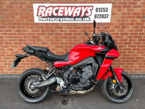 YAMAHA TRACER 9 2021 21 REG 458 MILES RED USED MOTORCYCLE 890CC