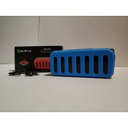 New in Box NewRixing Jeep Grille Blue Bluetooth Wireless Speaker