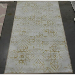 IVORY / GOLD 3'-3'' X 5'-3'' Flaw in Rug Reduced Price 1172605673 DSN532A-3
