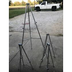 Quartet Display Easels 64 Inches Aluminum This Is For All 4