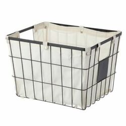 Better Homes & Gardens Medium Wire Basket with Chalkboard, 2 Pack