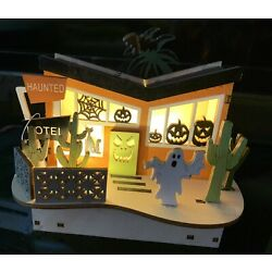 Mid-Century Modern House Butterfly Style Haunted Hotel Lighted Palm Springs!