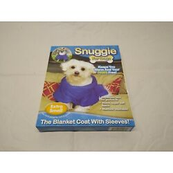 Snuggie Blanket, w/ Sleeves For Tea Cup/Extra Small Dog Breeds, 6''-9'', SN221116