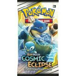 Cosmic Eclipse Booster Pack Sun & Moon Pokémon TCG   Brand New, Factory Sealed