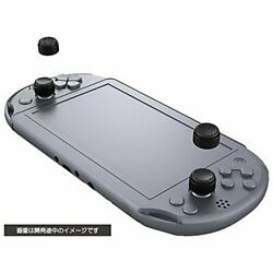 Cyber Gadget Analog Stick Cover High Type For Sony Ps Vita Black NEW from Japan