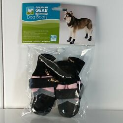 Guardian Gear All Weather Fleece Lined Dog Boots/Booties xxx Small pink used