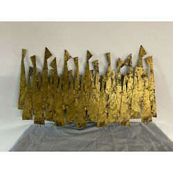Peter Pepper Product Mid-Century Modern Abstract ''People'' 40x20 Wall Sculpture