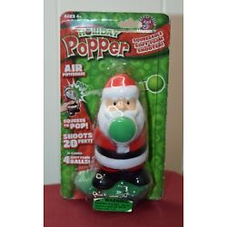 Certified Fresh Hog Wild Holiday Santa Popper Squeeze To Shoot 20 Feet!