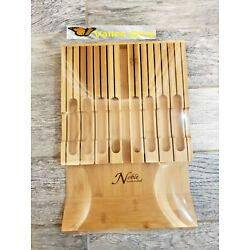 Noble Home Chef Moso Bamboo In Drawer 12 Knife Block