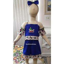 Girls National Pageant Christmas Casual Wear OOC Outfit Sz 12M RPD