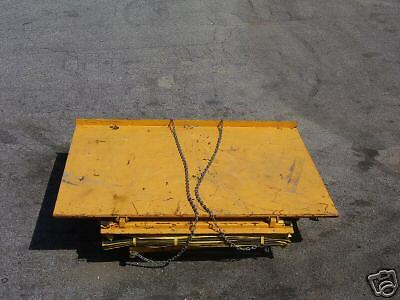Econo Lift Scissor Lift And Tilt Table 100x70 3000lb Ebay