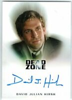 DEAD ZONE DAVID JULIAN HIRSH THOMAS BERKE AUTOGRAPH