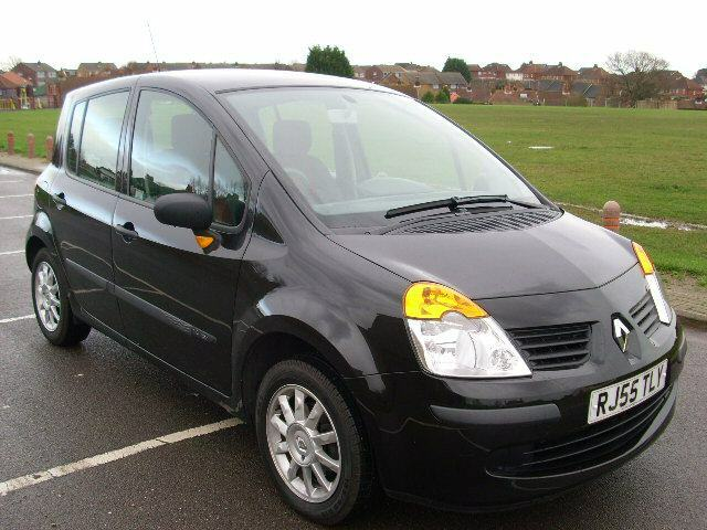 2005 renault modus black ebay. Black Bedroom Furniture Sets. Home Design Ideas