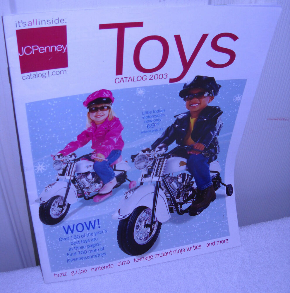 Jcpenney Home Store Locator: #8509 JCPenney Toys Catalog 2003 (31 Pages)
