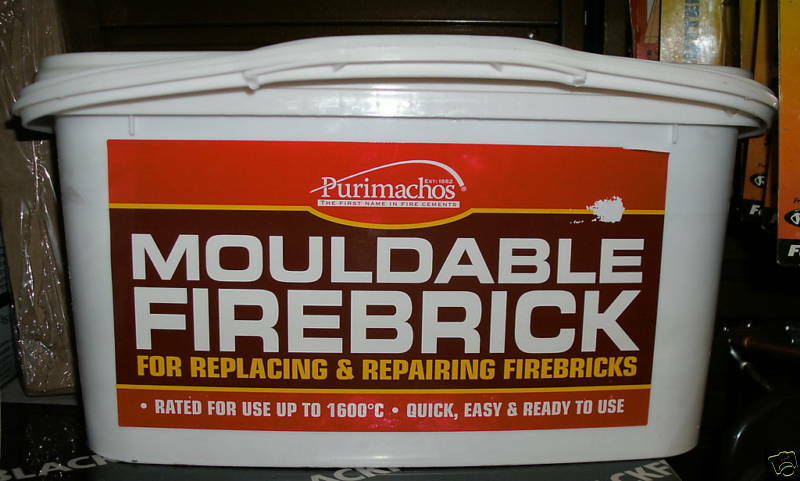Fire Brick Cement : New mouldable firebrick make any size fire brick cement ebay