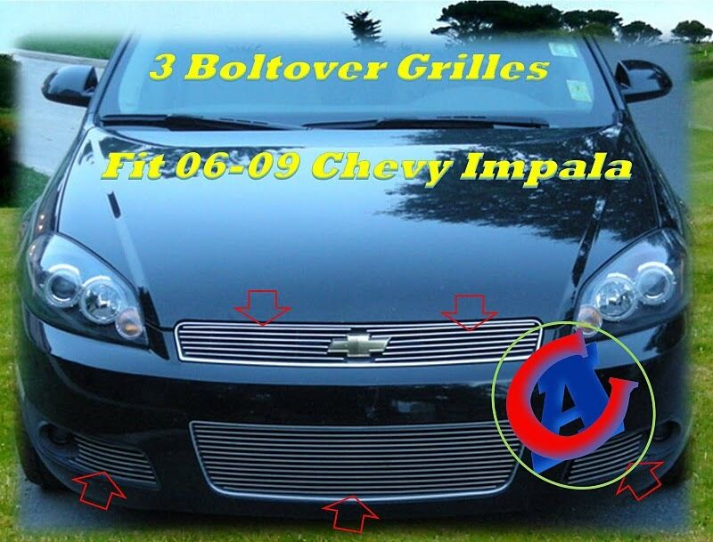 06 07 08 2008 Chevy Impala Ss Billet Grille Combo 2007 Ebay