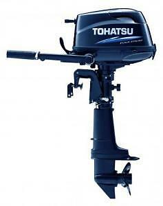 New Tohatsu Mfs 6 Hp Stroke Outboard Engine Motor Sail