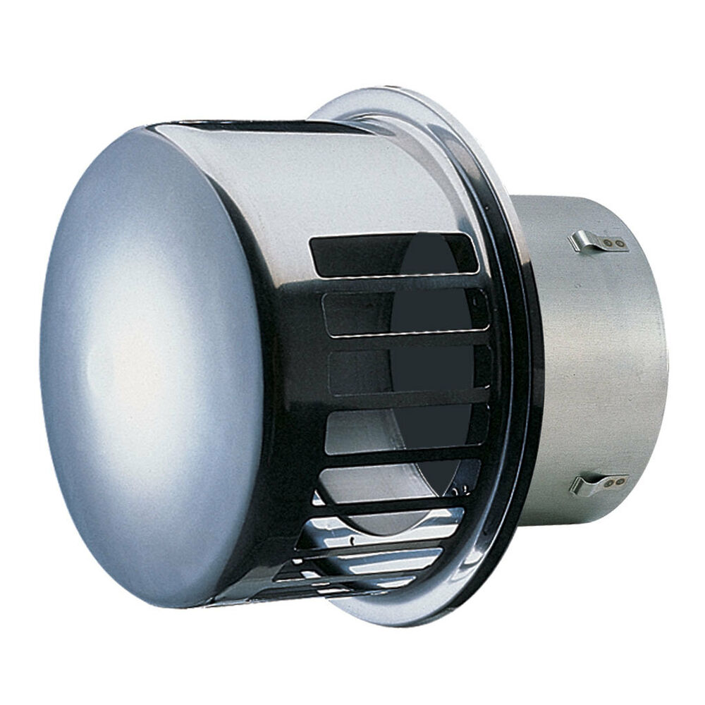 New Seiho Stainless Steel Dryer Vent 6 With Bd Damper
