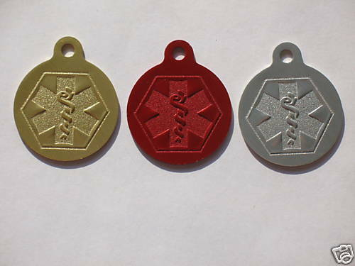 Pet Tags Cat Tags Id Tags Engraved Medical Alert Ebay