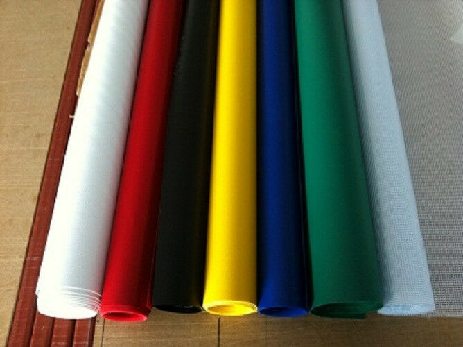 Heavy Duty Reinforced 550gsm Pvc Off The Roll Material Ebay