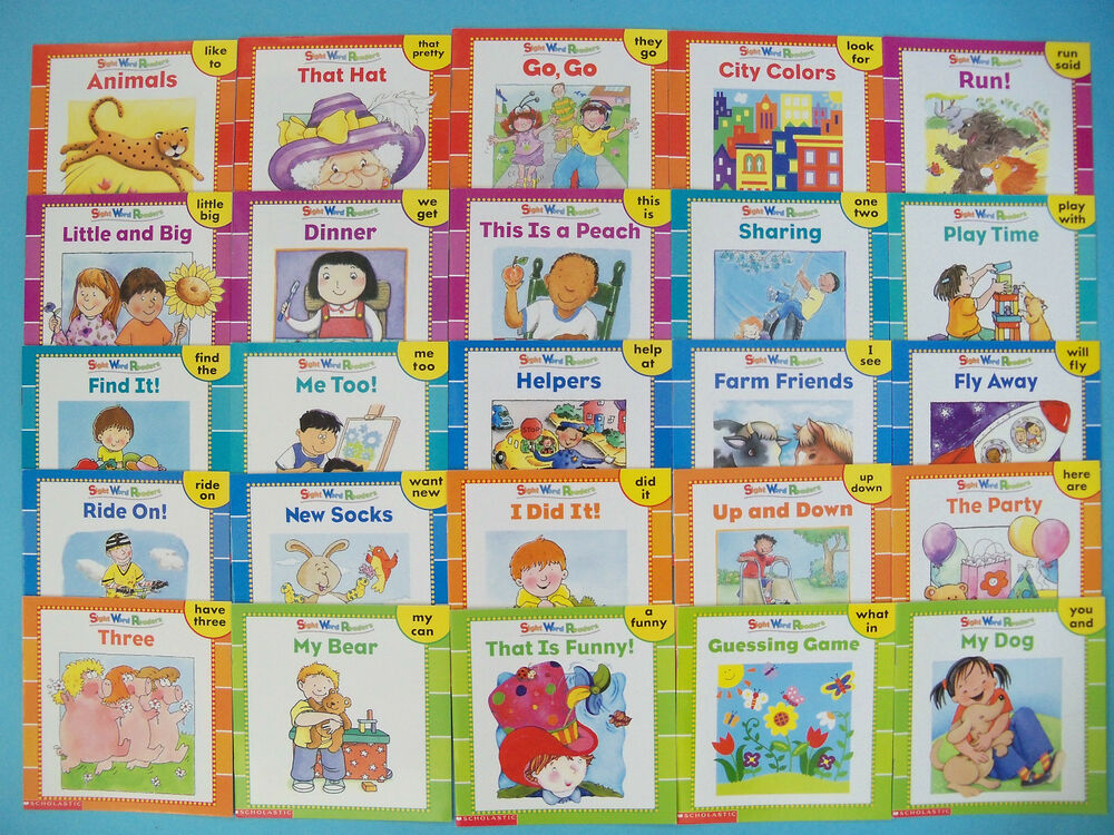 Kindergarten  books Books  sight Preschool Sight to Readers Learn Read to Word read words