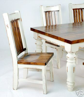 Rustic White Restoration Farm Table Harvest Table Ebay