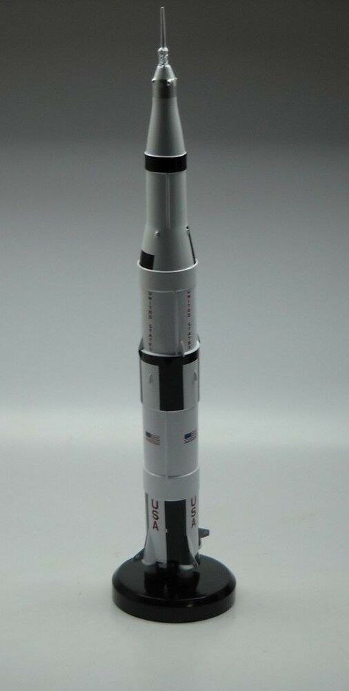 Saturn V Rocket Apollo Spacecraft Plane Wood Model Small ...