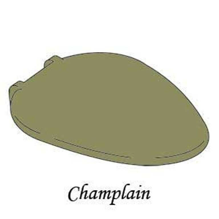 Avocado Toilet Seat For Kohler Champlain 4690 21 Ebay