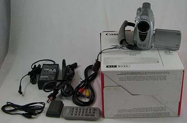 Canon Zr 200 Zr200 Digital Video Camcorder As Is 20x Zoom