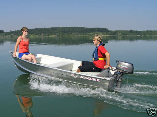 New Aluminium Marine Ally 12 3 7m Dinghy Craft Row Boat
