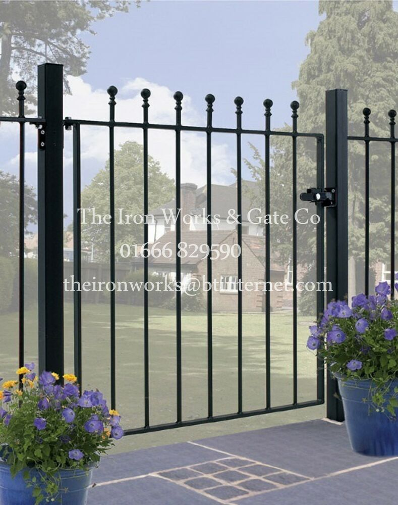Wrought Iron Gates: # WROUGHT IRON METAL GATE GARDEN GATES (MANOR SMALL) ALL