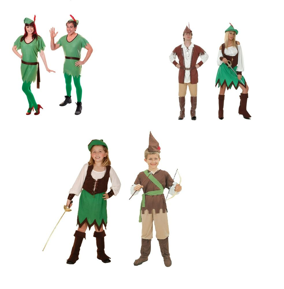 Amazoncouk: Fancy Dress Adult Peter Pan Costume: