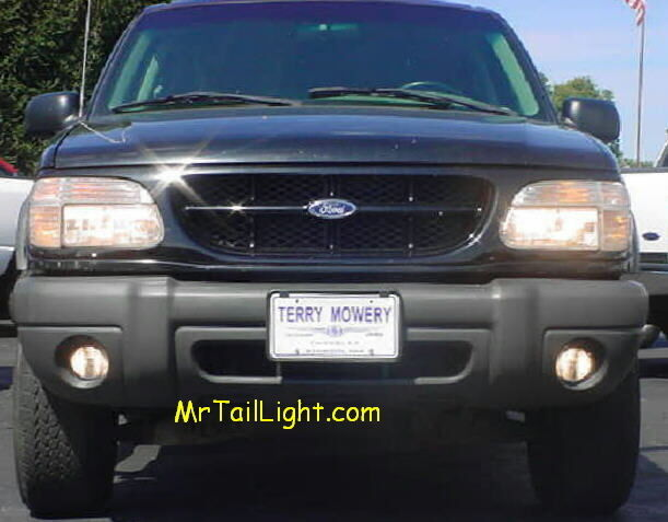 95 Amp Up Ford Explorer High Beam Fog Light Kit Turns Fogs