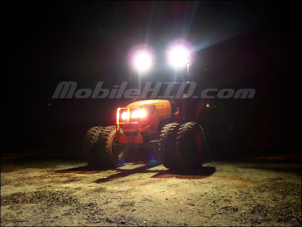 John Deere Hid Lights : Tractor hid lights for deere kubota case cat sw ebay