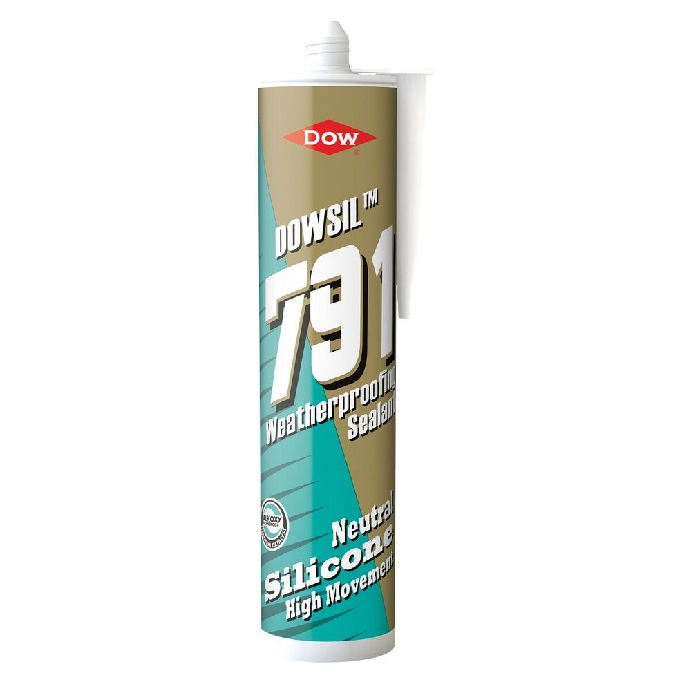 Dow Corning 791 Coloured Silicone Sealant Frame Building