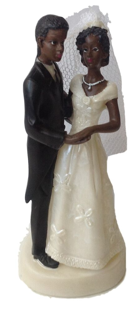 wedding cake bride and groom figurines black and groom cake top figurine 4 5 quot ebay 22087