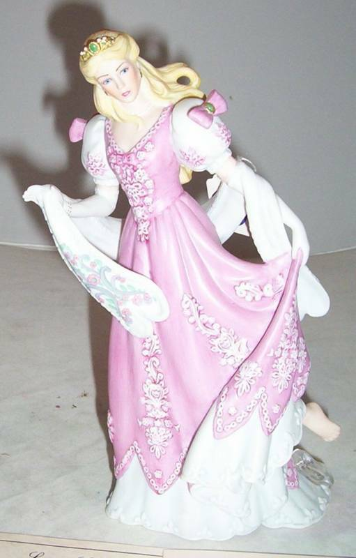 lenox legendary princesses cinderella figurine new 1988 ebay. Black Bedroom Furniture Sets. Home Design Ideas