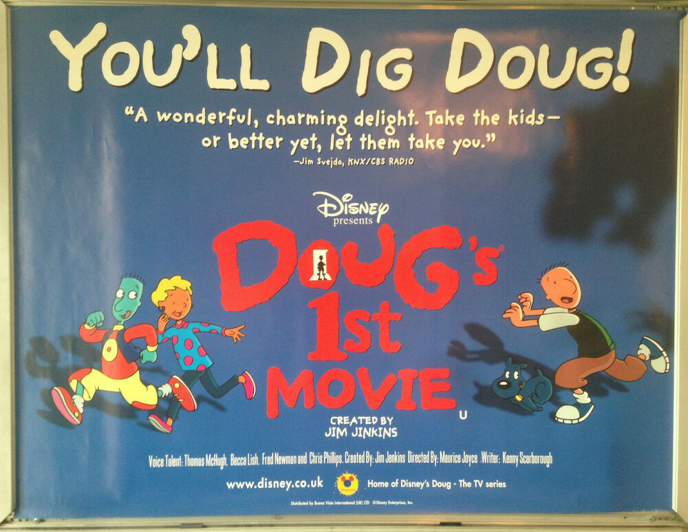 Movie Posters 1999: Cinema Poster: DOUG'S 1ST MOVIE 1999 (Quad) Thomas McHugh