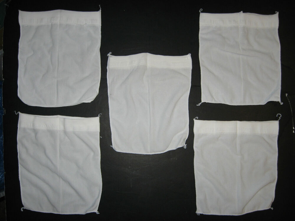 Swimming Pool Spa Skimmer Basket Filter Savers Fine Mesh Bag Socks 5 Pack Ebay