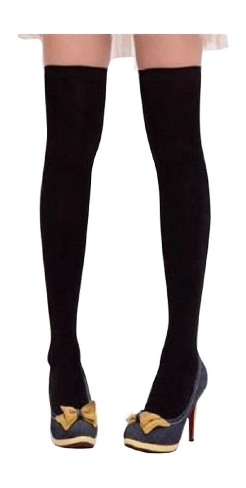 Fashion Leg Warmers Socks Over The Knee Cotton Knit ...