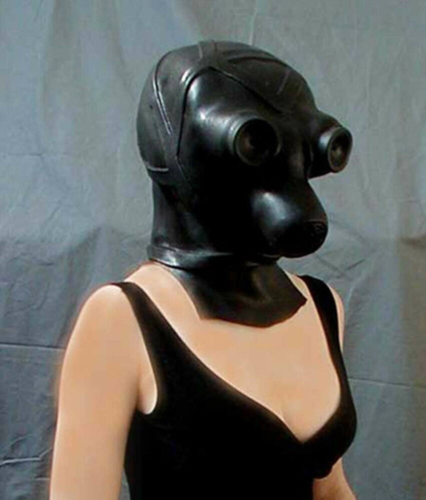 Phrase A latex mask