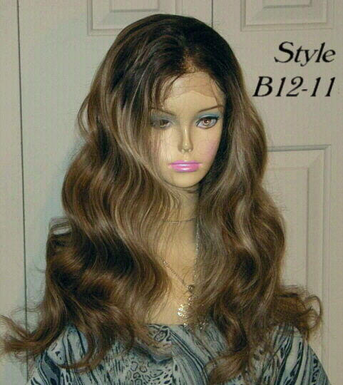 custom hair styling custom made 100 remy human hair lace front wig wigs ebay 3940 | s l1000