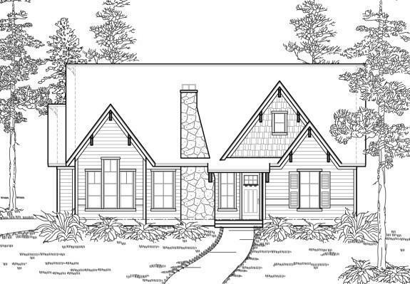 Texas Country Cottage Style House Plans 1350 Ebay
