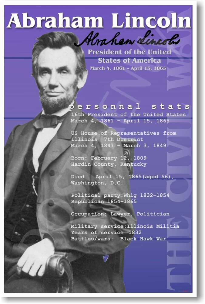 Dramatic Life of Abraham Lincoln, The Movie Posters From ... |Abraham Lincoln Poster Lax