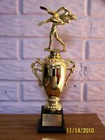 "14"" Wrestling Cup Trophy Award - FREE Engraving Dbl Fig"