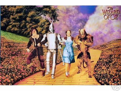 Wizard Of Oz•Yellow Brick Road•24x36 Movie Poster All ...  Wizard Of Oz•...