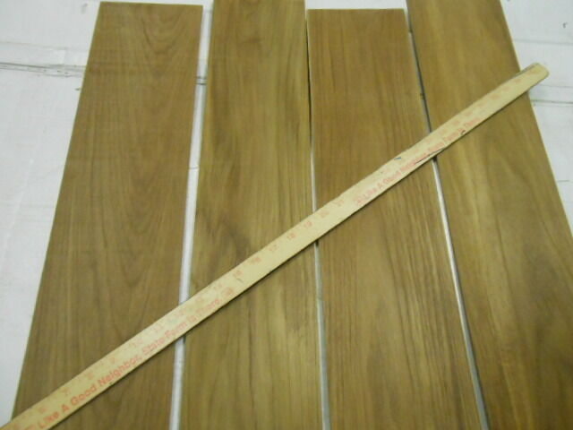 Square feet of real teak inch thick solid