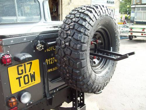 Bike Racks For 4x4 X SPARE WHEEL MOUNTED CYCLE