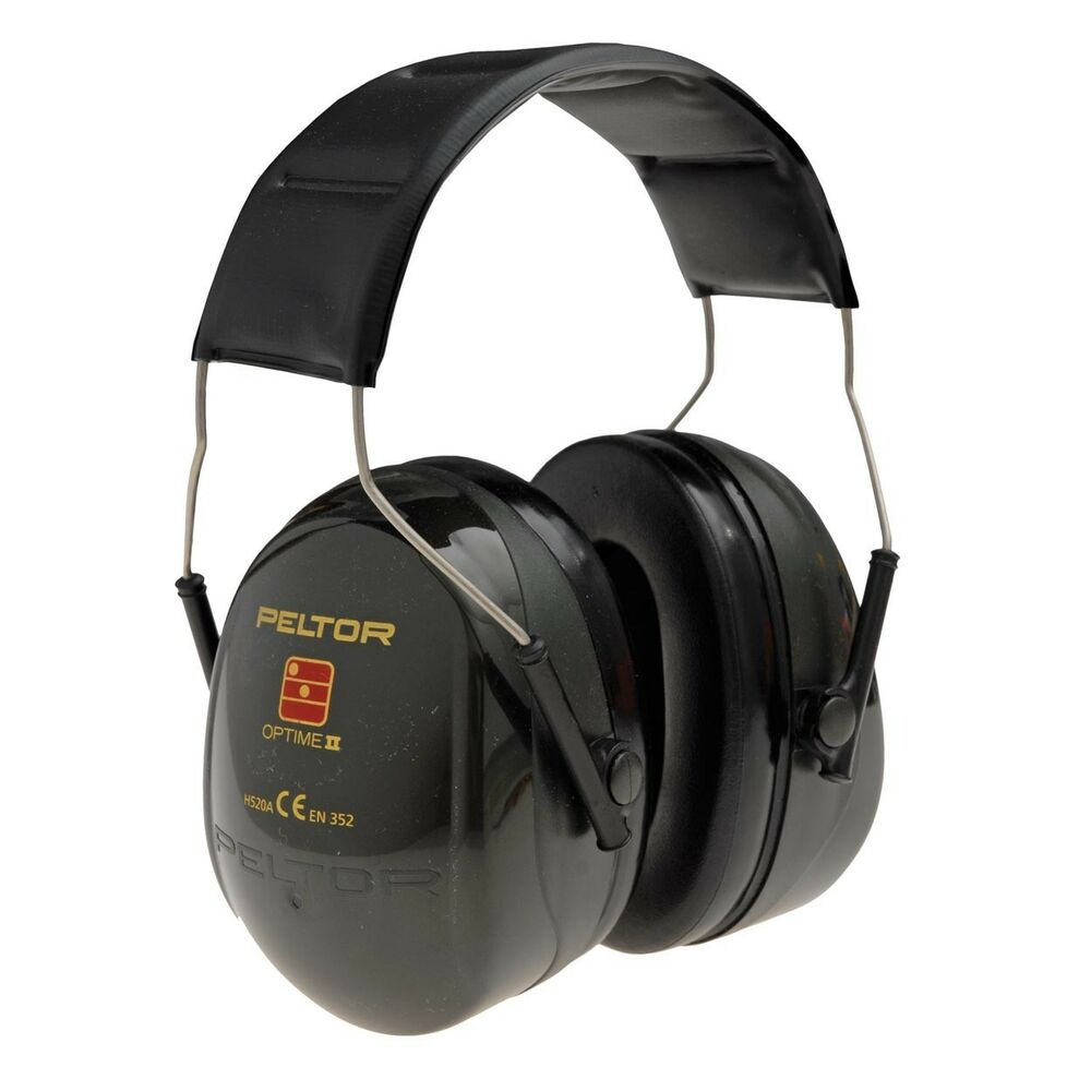 peltor optime ii h520a premium quality ear defender muffs ebay. Black Bedroom Furniture Sets. Home Design Ideas